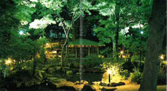 弁天の森池照明施設(大井町)